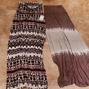 Long skirt free people cynthia rowley venus s/m